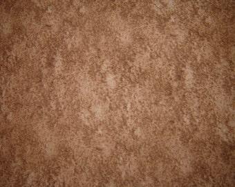Medium Brown Mottled Fabric From Michael Miller