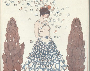 La Vie Parisienne Les Papillons - Print