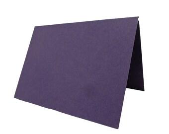 Dark Purple Place Cards 25 pack