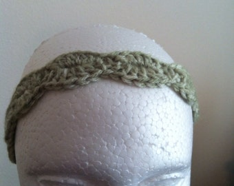 Headband (seaspray mist),  woman's headband, child headband, tie headband