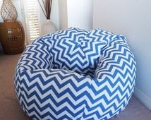 Popular Items For Chevron Bean Bag On Etsy