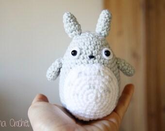Little TOTORO Amigurumi crochet doll · Studio Ghibli · Handmade Crochet toy plush