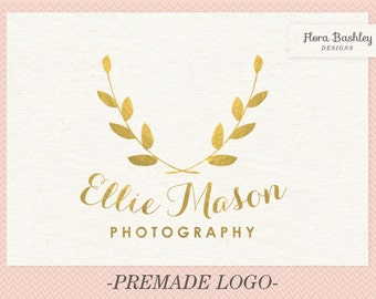 Custom Logo Design and Watermark - Premade  FB143