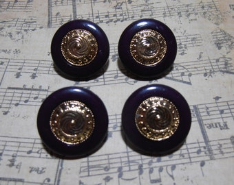 Shank buttons, Vintage Buttons, Plastic Buttons, Embellishments, Design Buttons, Navy Blue Buttons, Sewing Notations, Destash, Epsteam