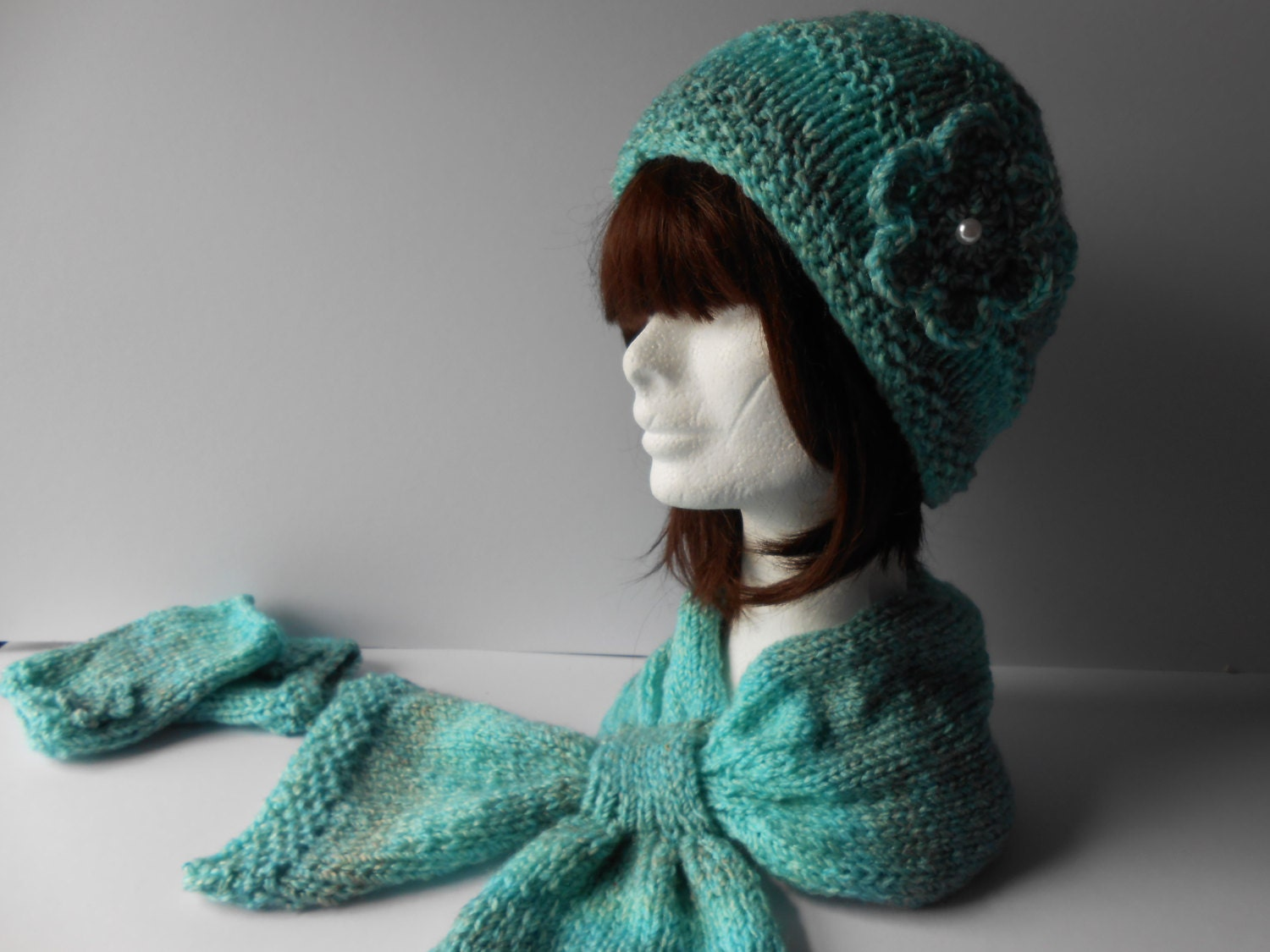 s knit hat and scarf set knit beanie and