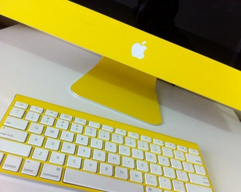 Apple iMac Matte Yellow 21.5 or 27 inch Protective Skin