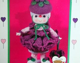Raspberry Fluff By Lollipop Lane Vintage Crochet Pattern Leaflet 1984