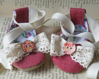 Baby Girl First Mary Jane/ Girl Dress shoes/ Baby party shoes
