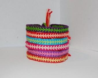 Fishbone Friendship Bracelet