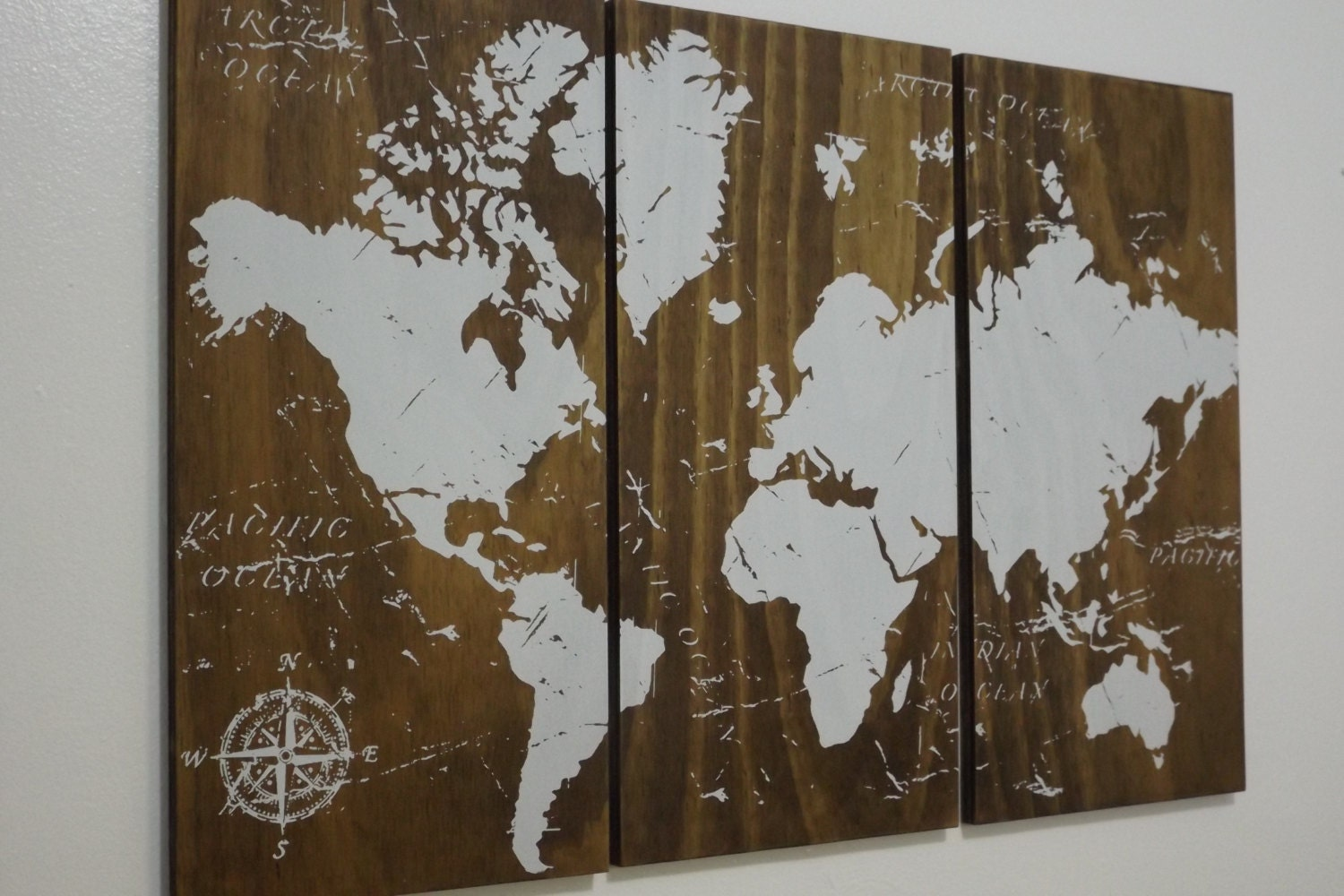 Old World Map Push Pin Travel Map Solid Wood Wall Art World – Travel Map With Pins