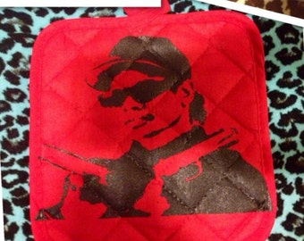 Eazy E potholder set of 2