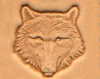 Gray Wolf Leather Stamp Tool