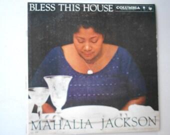 Mahalia Jackson - Bless This House- vinyl record