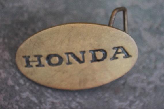 Vintage Brass Belt Buckles Vintage Honda Brass Belt