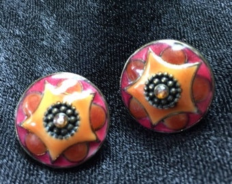 Great stars! Love the beautiful fall colors of these earrings
