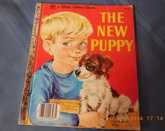 The New Puppy, a Little Golden Book.