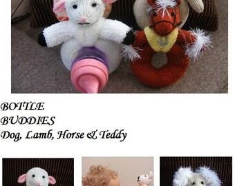 Bottle Buddies Knitting Pattern