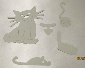 kitty die cut sets