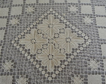 Vintage Square Tablecloth (Topper)