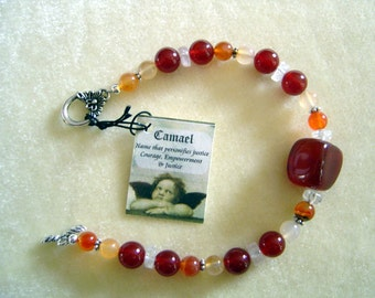 Healing bracelet resonates with the energy of Archangel Camael