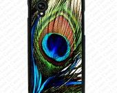 Peacock Feather Google Nexus 6 Case, Nexus 5 case, Google nexus 6 Cover, Google nexus 5 case, nexus 4 cover