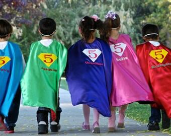 ONE   Super hero cape/Birthday Super Hero cape/Custom Cape/Super Hero/Birthday bash cape-