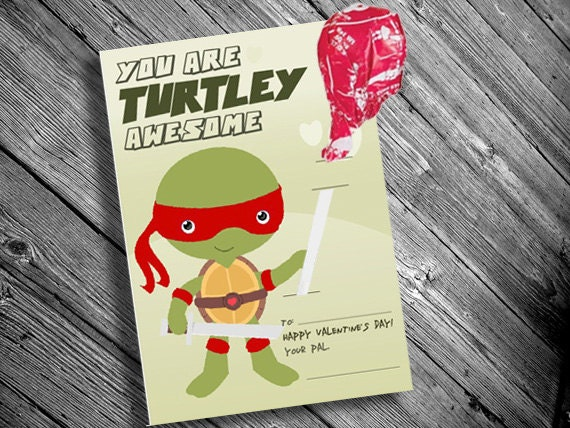 Printable Ninja Turtle Inspired