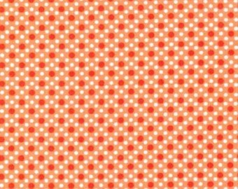 Orange Dim Dots, from Michael Miller Fabrics