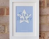 Star Baker - Gicleé Print