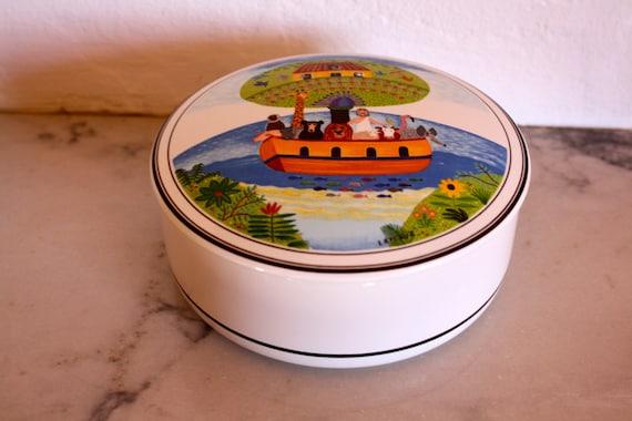 depuis 1748 naif villeroy boch porcelain noahs ark. Black Bedroom Furniture Sets. Home Design Ideas