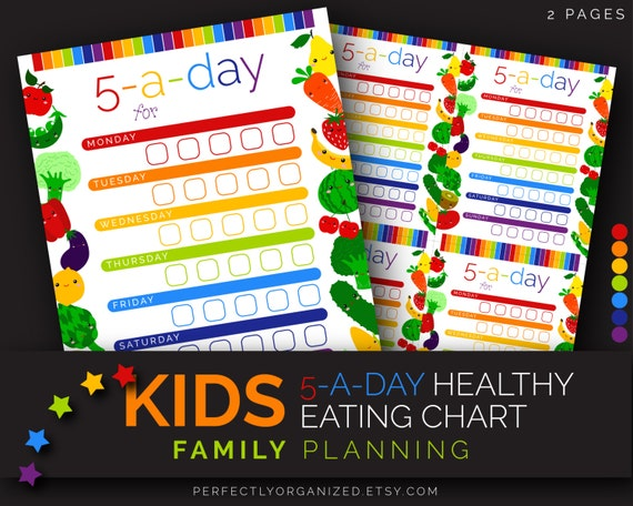 Printable Healthy Eating Chart