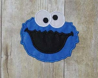 Iron on Cookie Face Applique - Custom Colors