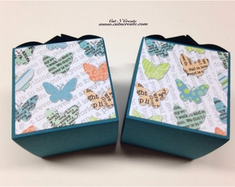 Butterfly Favor Box Butterfly Baby Shower Favor Butterfly Shower Butterfly Wedding