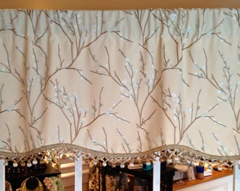 Scallop Valance free shipping