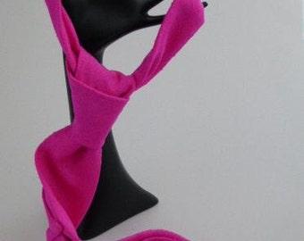 Pure Silk Tie, Neon Pink