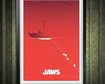 Jaws A3 Poster