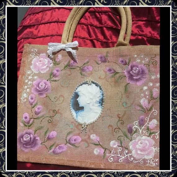 Hessian Bags Personalised Personalised Jute Bags Hand