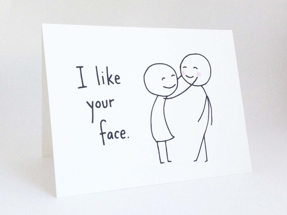 Cute Love Card for Boyfriend Anniversary Card for Husband – Cute and Funny Valentines Day Cards