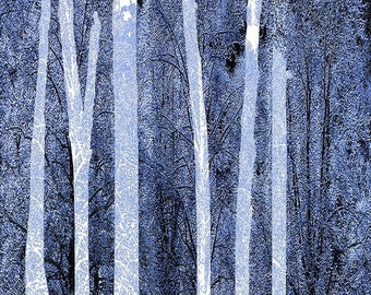 Trees Vertical - Giclee Print