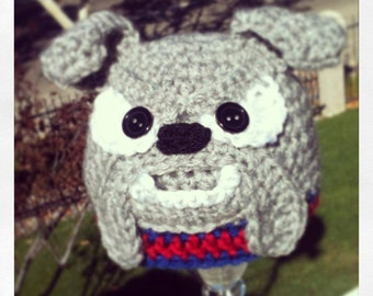 Popular items for crochet bulldog on Etsy