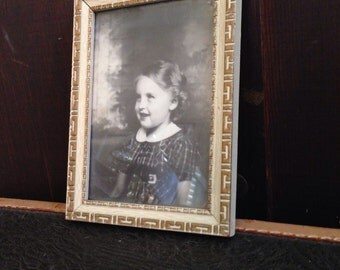 Very Sweet Framed Photo of a Young Girl