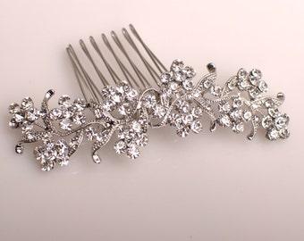 2014 New elegant vogue rhinestone bridal comb beautiful wedding hair accessory