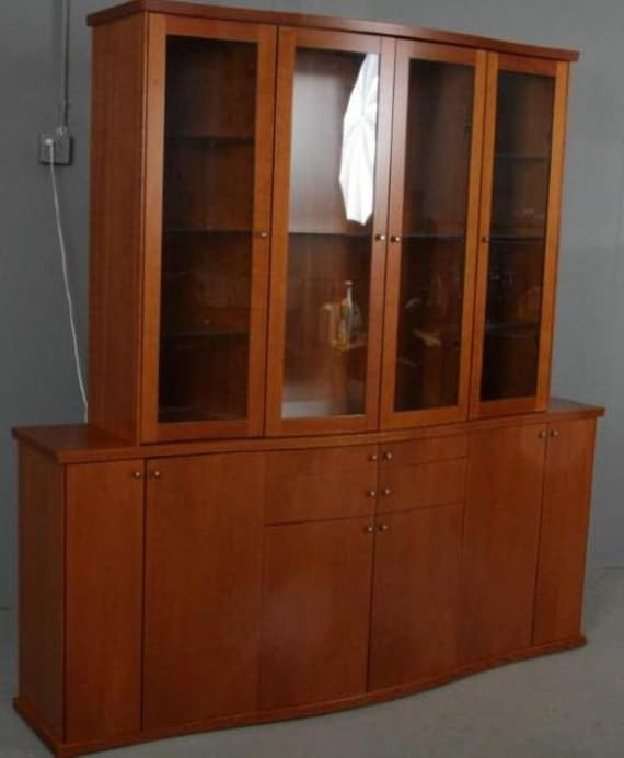 Skovby Mid Century Modern China Cabinet By Timberlakefurniture