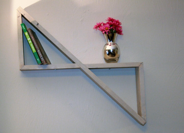 Geometric Shadow Box Shelf 90 Degree By Appalachianartisans
