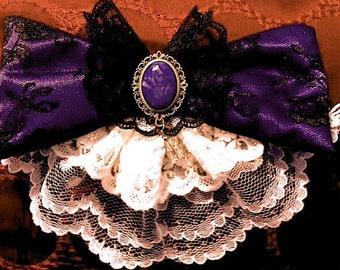 Anime Steam Punk Gothic Lolita Hair Clip And Brooch
