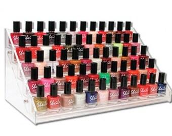 Nail  Polish Display Holds up to 60 Bottels