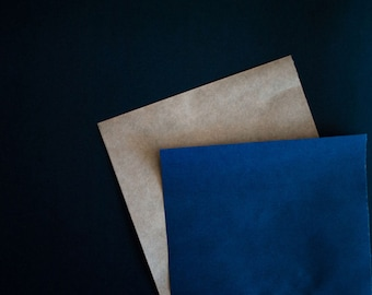 Navy Kraft Gift Wrapping Paper