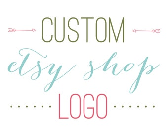 Custom Etsy Shop Logo / Logo design for your Etsy shop