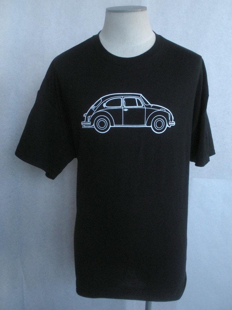 Volkswagen vintage beetle logo t shirt by vintagetransitshop for Old logo t shirts