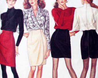 Simplicity Sewing Pattern 6608 Misses Skirts  Size 6-8